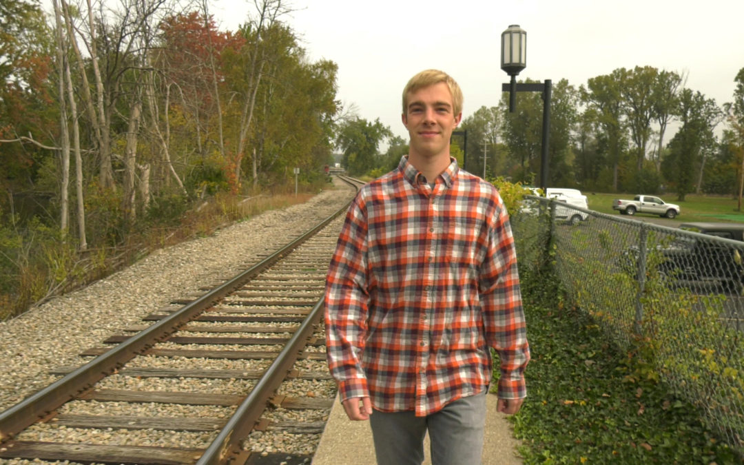 A Central Michigan University Student Moves to the Rhythm of the Rails
