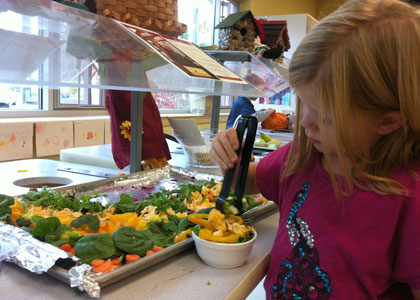 10 Cents A Meal puts local produce on students' plates
