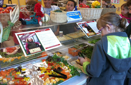FoodCorps Diaries: Farm To School Month a Success