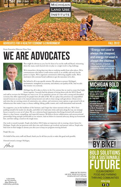 MLUI Newsletter – Fall 2012