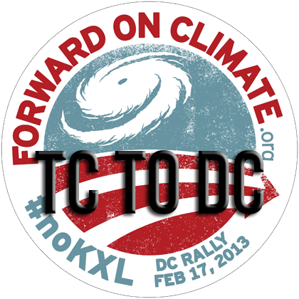 TC2DC for the Forward on Climate Rally!