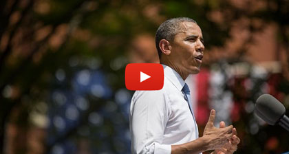 Obama tackles climate change in impressive address