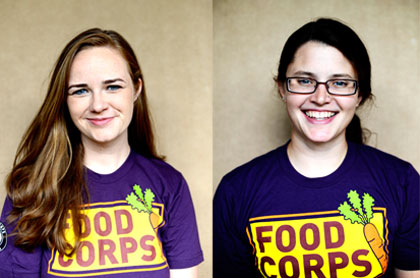 Introducing MLUI's new FoodCorps service members