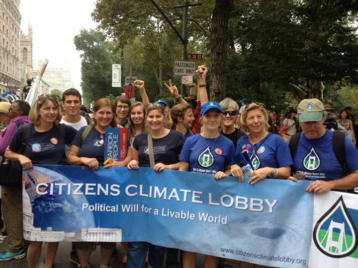 In Washington and Statewide, Michiganders March for Climate Action