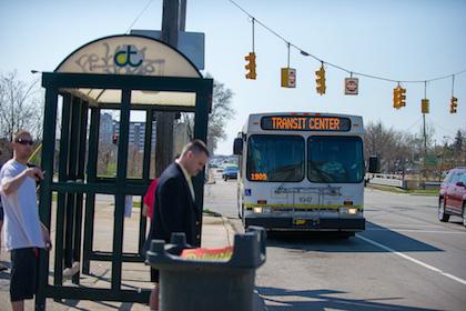 Transit Center Bus