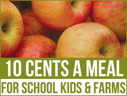 Ten Cents a Meal program is expanding