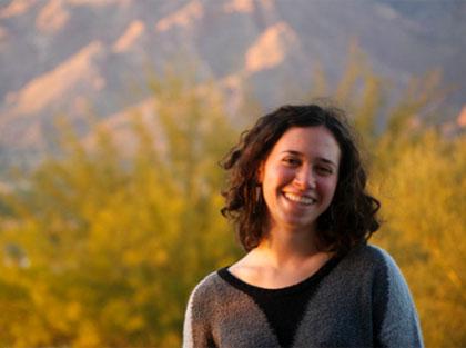 Introducing intern Rebecca Fisher