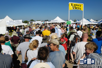 The Midwest Renewable Energy Association Fair, in Wisconsin, inspired some Michiganders to launch the state's own, similar event in 2005.