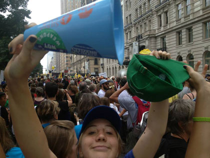 Northern Michigan activists march in historic NYC rally