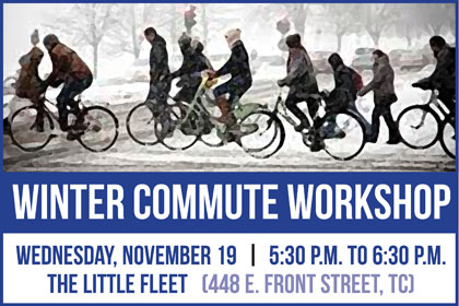 Learn how to bike and bus in winter