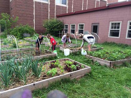 School Garden Workshop in Northern Michigan