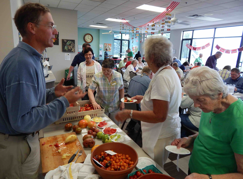 Friendship Centers Connect Seniors in Emmet County to Fresh, Local Food