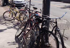Businesses Agree: More On-Street Bike Racks Needed In TC