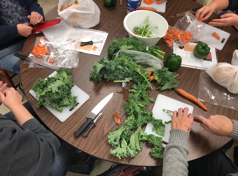 Food Pantry Cooking Classes Teach Healthy, Local Eating