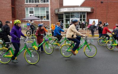 Lessons in Small City Mobility: Shared Bikes Get Rolling in Ithaca, New York