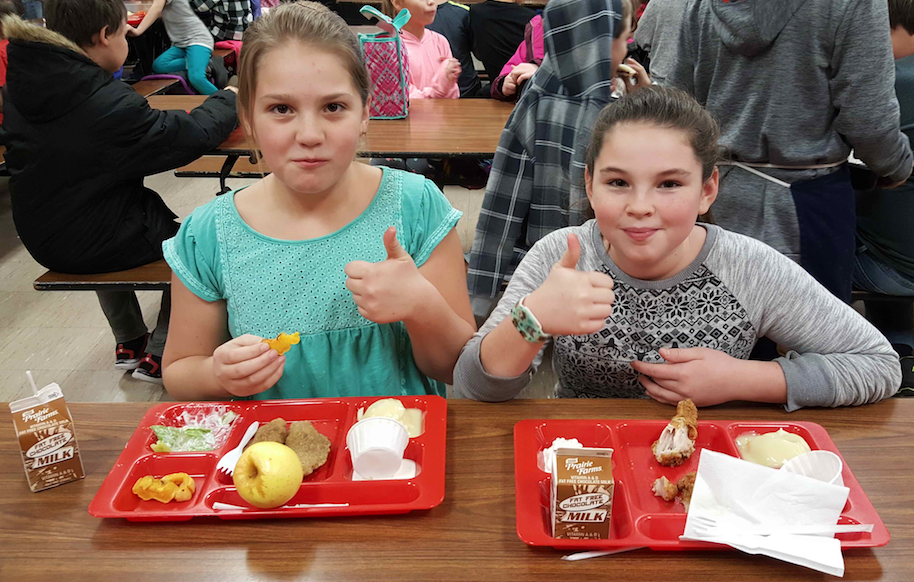 East Jordan Incorporates Local Produce into Cafeteria and Curriculum