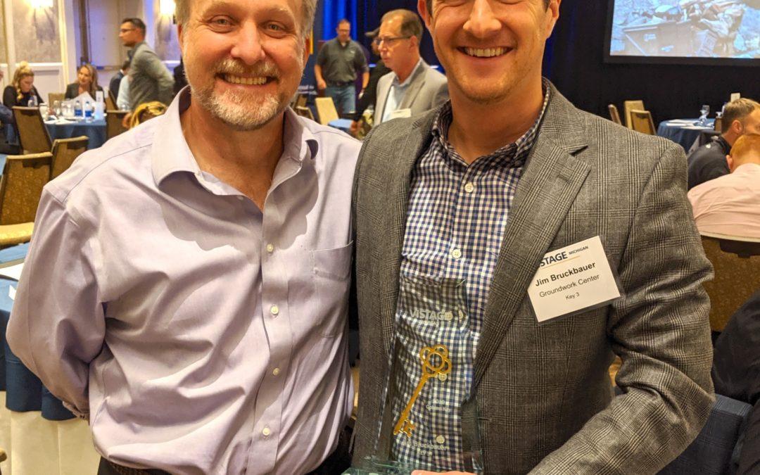 Kudos!! Groundwork's Jim Bruckbauer Receives Management Leadership Award