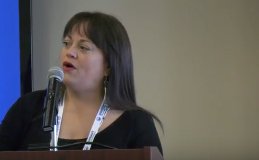 Video of Holly Bird's Native American Song and Welcome at the Michigan Clean Energy Conference