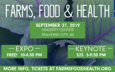 Keynote Speakers Event. Public Invited! Farms, Food & Health Conference