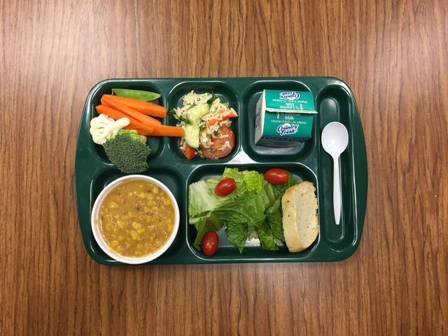 School Lunch at Boyne Falls Public School