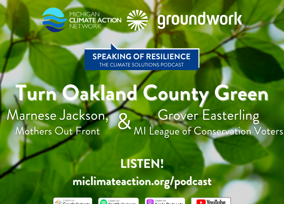 Working for Environmental Justice in Oakland County, Michigan
