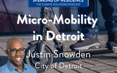Justin Snowden Talks Micro-Mobility in the Motor City