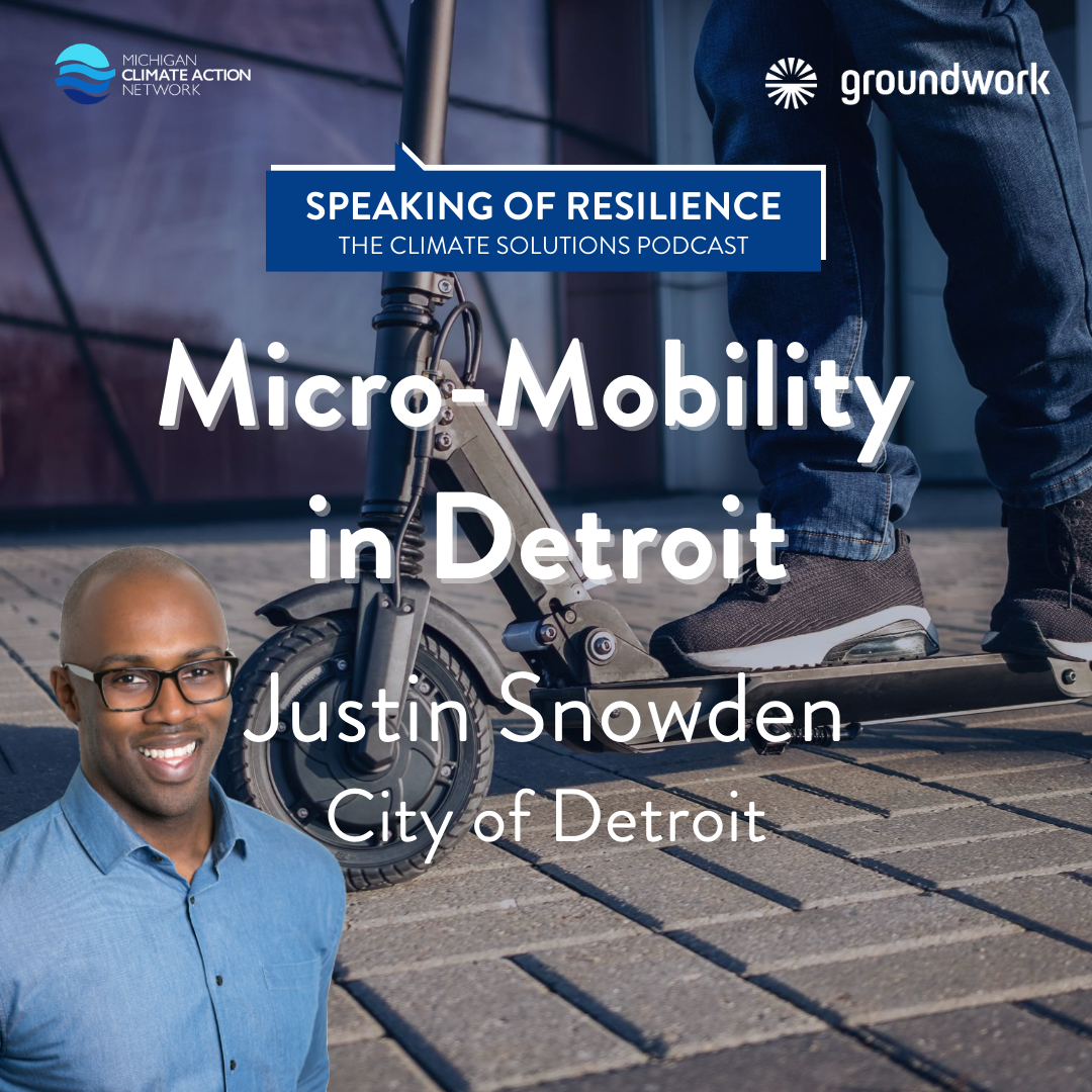 Justin Snowden - Micromobility in Detroit