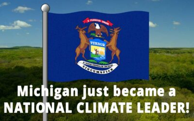 Governor Whitmer's Executive Order Makes Michigan National Climate Leader