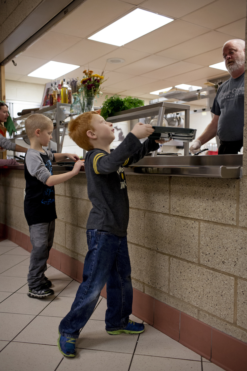 Boyne Falls Public Schools cafeteria