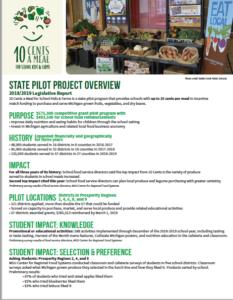10 Cents Legislative Report 18-19 cover
