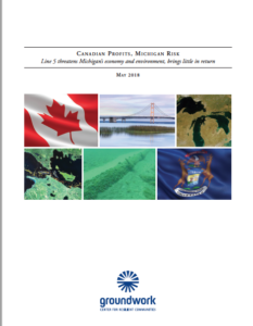 Canadian Profits Michigan Risk Line 5 Cover