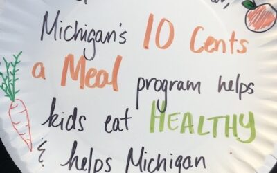 Michigan Legislature Doubles Funding for 10 Cents a Meal