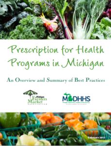 Prescription for Health Programs in Michigan